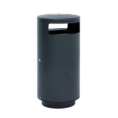 Affaldsspand 125 liter integreret askebæger